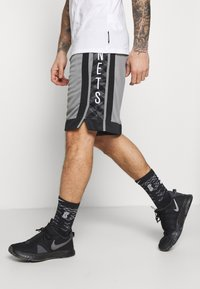 Nike Performance - NBA BROOKLYN NETS SWINGMAN SHORT - Sports shorts - dark steel grey/black/white - 3