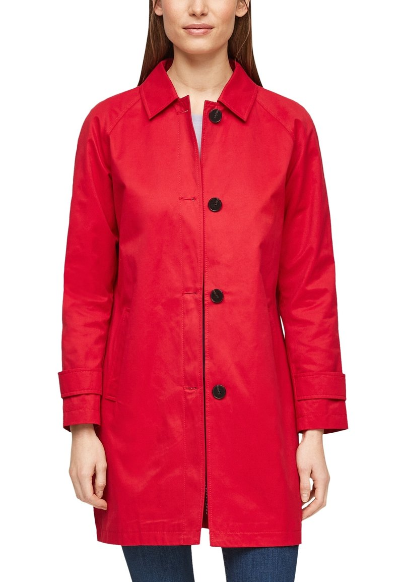 s.Oliver - Trenchcoat - red