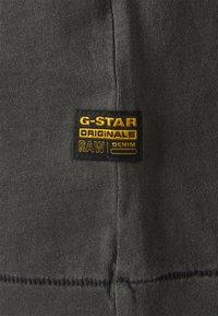 G-Star - REGULAR FIT TEE OVERDYED - T-shirts - raven - 6