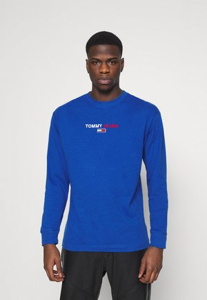 CONTRAST LINEAR  - Long sleeved top - providence blue