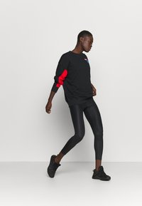 Nike Performance - DRY GET FIT FC  - Sweatshirt - black/chile red/white - 1
