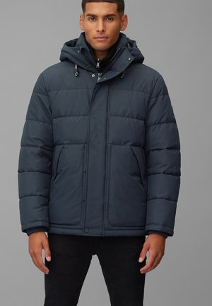 Winter jacket - scandinavian blue