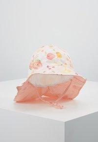 Maximo - MINI GIRL FLAPPER - Hat - zart rosa melange/gelb - 0