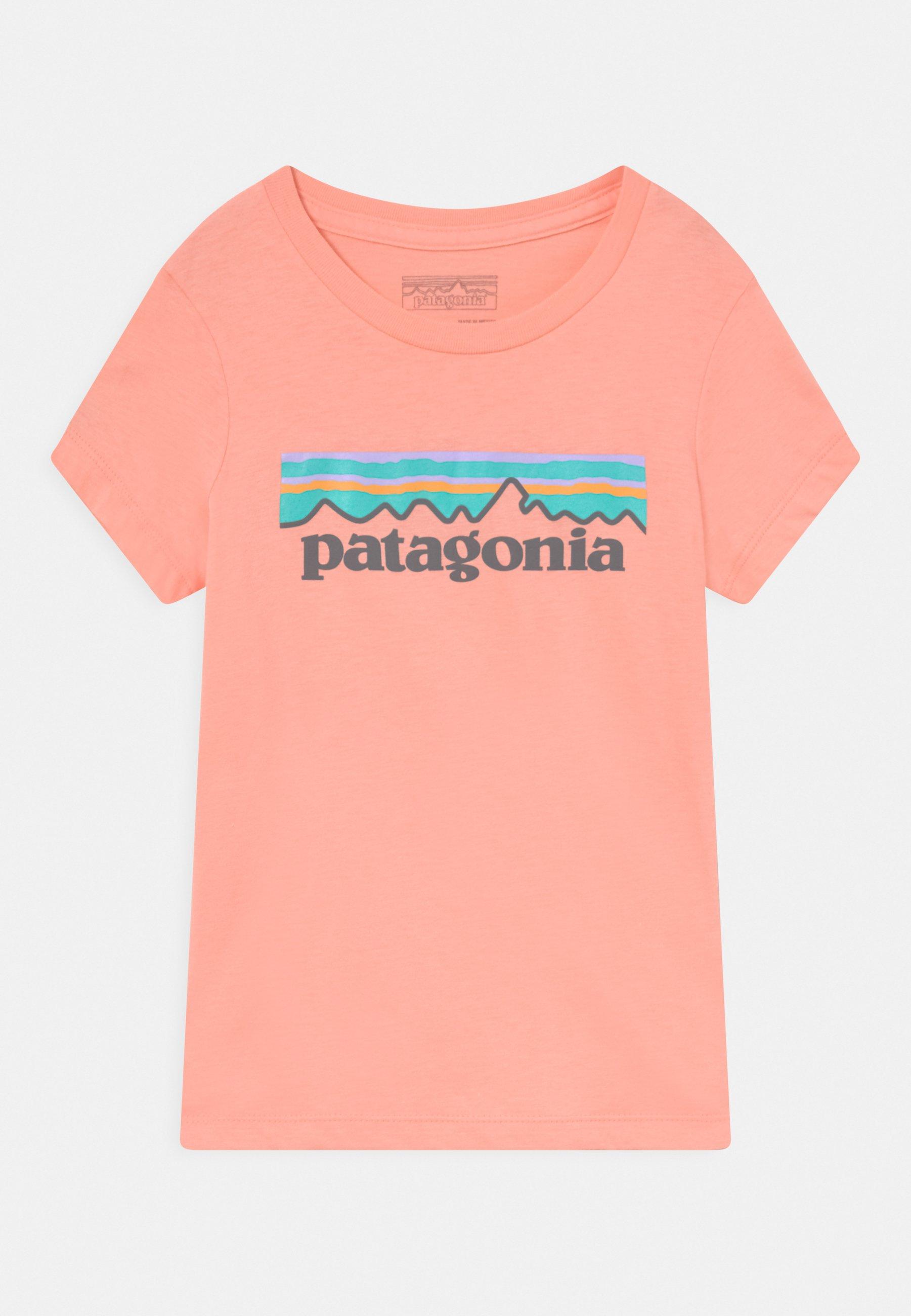 Kids GIRLS PASTEL LOGO ORGANIC  - Print T-shirt