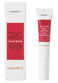 Korres - WILD ROSE EYE CREAM - Eyecare - - - 1