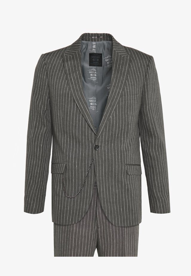 BISHAM SUIT - Puku - charcoal