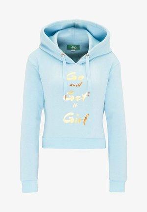 Bluza z kapturem - light blue