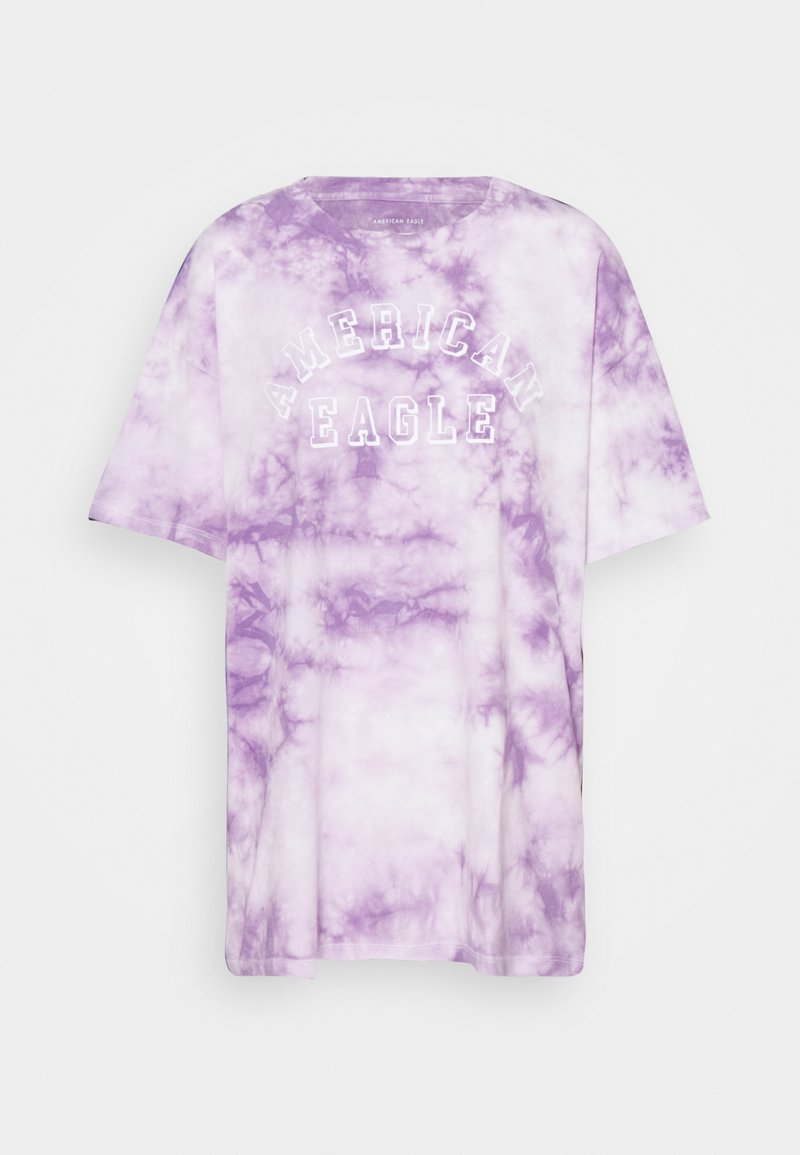 American Eagle - BRANDED FASHION LENNON TEE - Print T-shirt - purple