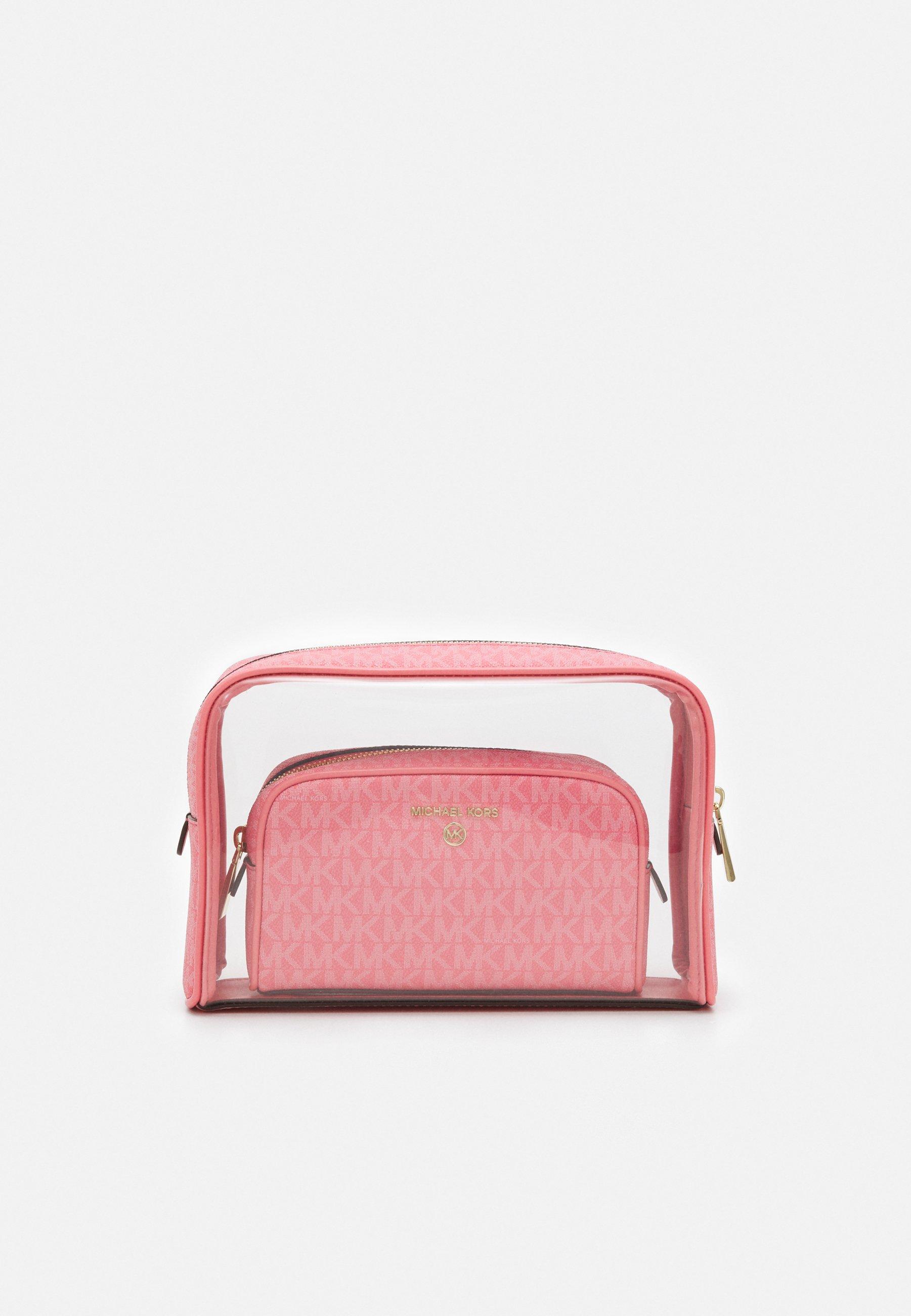 Women JET SET CHARM TRAVEL ZIP POUCH SET - Wash bag