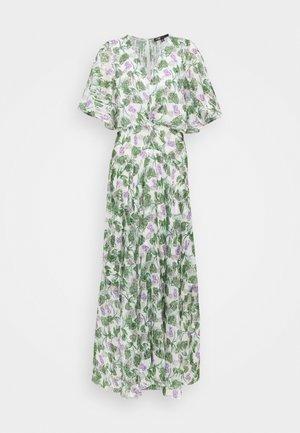 ROCHELLE - Maxi šaty - végétal écru vert
