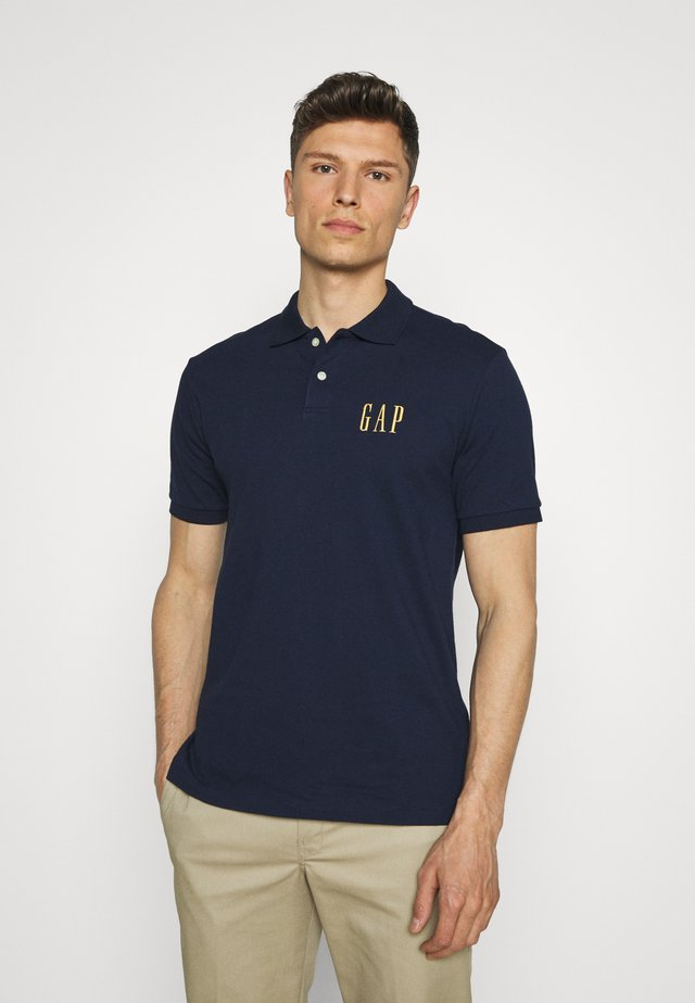 LOGO - Polo shirt - tapestry navy