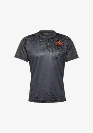 HB TRAIN T M - Print T-shirt - grey