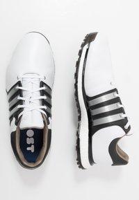 adidas Golf - TOUR360 XT-SL - Golfové boty - footwear white/matte silver/core black - 1