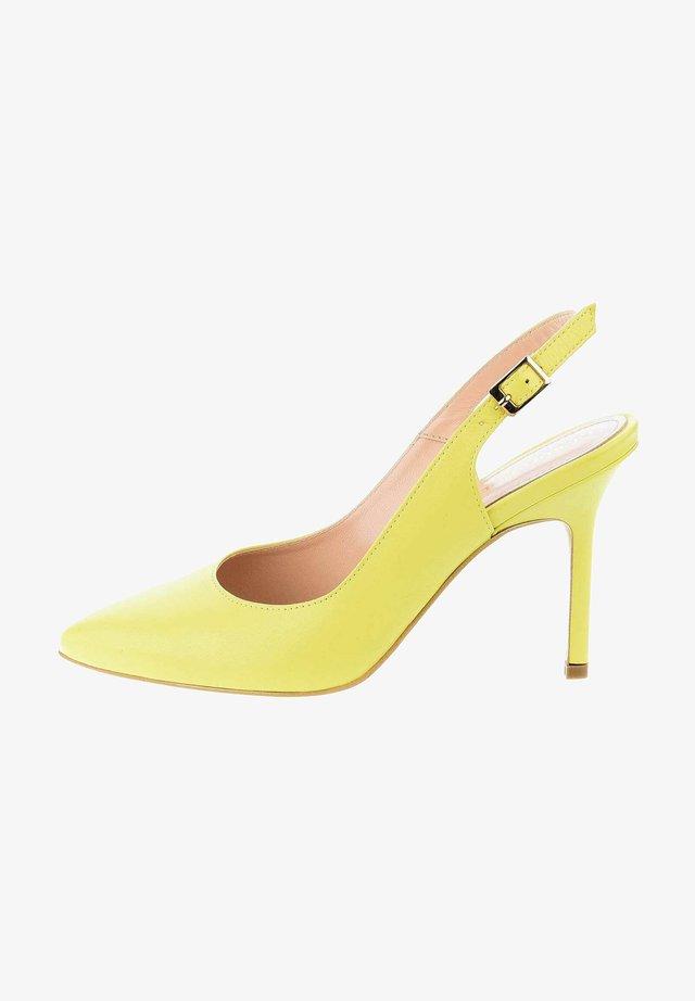 AGNELLO - Zapatos altos - yellow