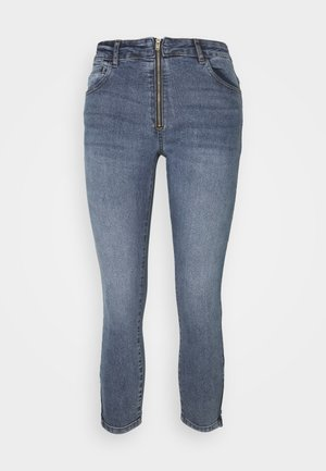 Jeansy Skinny Fit - medium blue denim