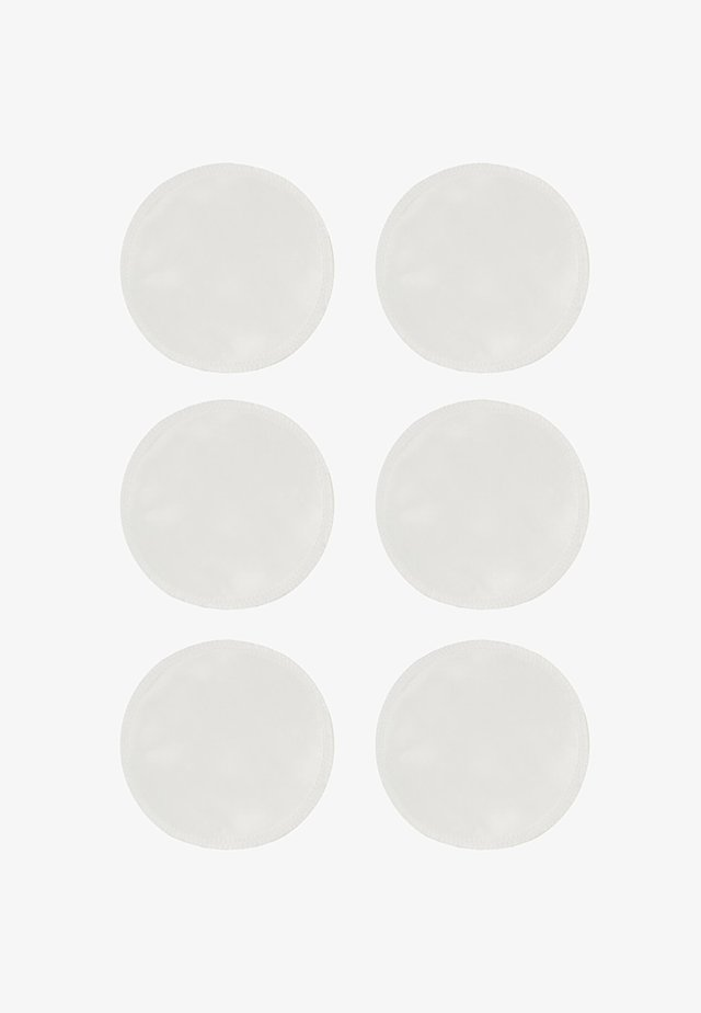 6 PACK SILK BREAST PADS - Other - white