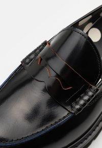 Paul Smith - BYRON - Nazouvací boty - black/multicolor - 5