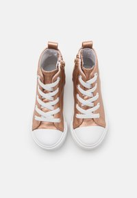 Cotton On - CLASSIC LACE UP UNISEX - High-top trainers - rose gold metallic - 3