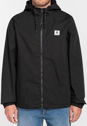 ALDER - Summer jacket - flint black