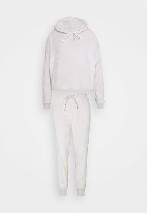 HOODY AND JOGGER - Pyjamas - grey