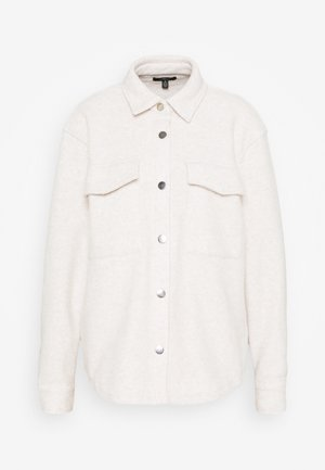 DOUBLE POCKET - Summer jacket - oyster gray