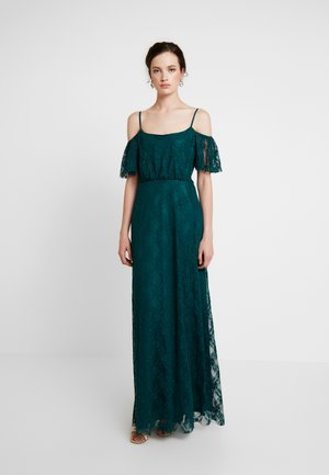 DREAM OFF SHOULDER GOWN - Occasion wear - green