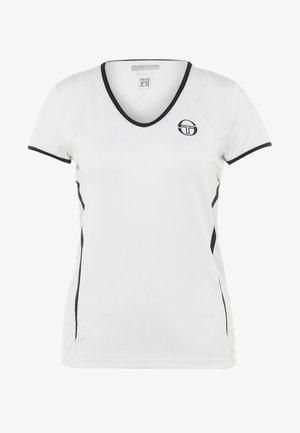 EVA  - Camiseta de deporte - white/navy