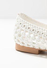 Topshop - ALBA BALLET - Ballet pumps - white - 2