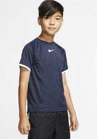 Nike Performance - DRY - Print T-shirt - obsidian/obsidian/white/white - 1