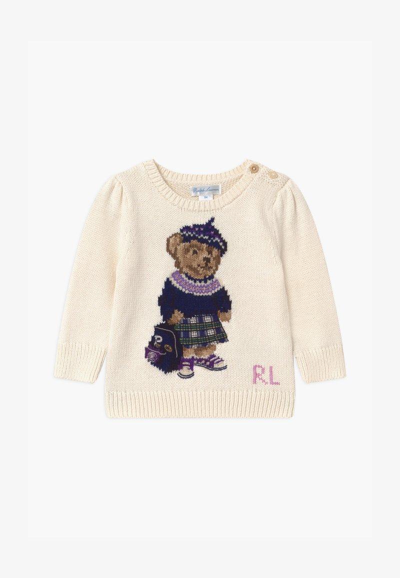 Polo Ralph Lauren - BEAR - Pullover - clubhouse cream