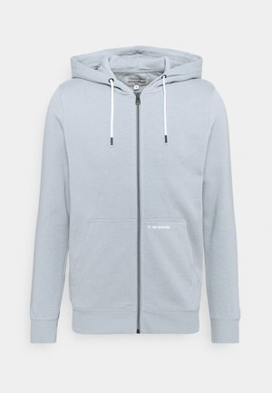 HOODY JACKET  - Zip-up hoodie - foggy blue