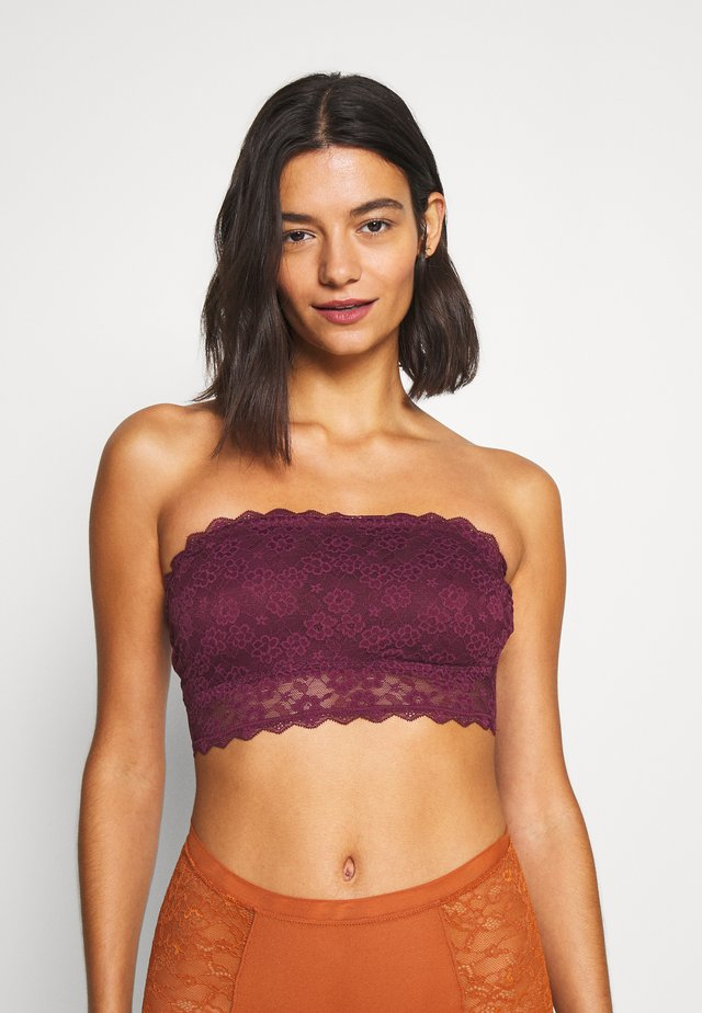 CORE BANDEAU - Topp - berry wine