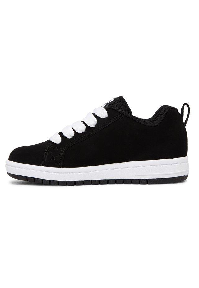 Sneakers laag - black/white