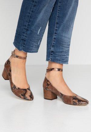 VESPA - Classic heels - camel