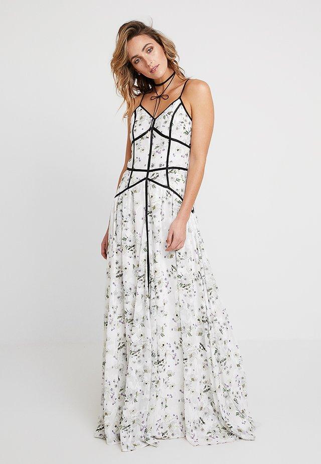 MADISON CAGED DRESS - Maxi šaty - white
