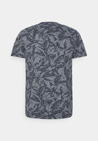 Jack & Jones - JORLEFO TEE CREW NECK - T-shirt con stampa - navy blazer - 1
