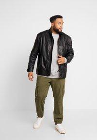 Belstaff - BIG & TALL V RACER  - Leather jacket - black - 1