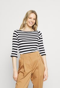 Anna Field - Long sleeved top - black/white - 0