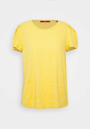 Basic T-shirt - golden honey melan