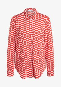Oui - Button-down blouse - red white - 5