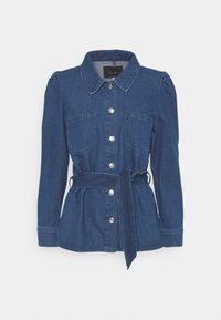 ONLY - ONLMELROSE JACKET YORK - Denim jacket - medium blue denim - 5