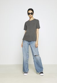 G-Star - REGULAR FIT TEE OVERDYED - T-shirts - raven - 1