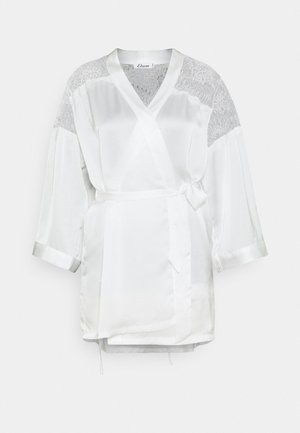 CRUSH DESHABILLE - Dressing gown - ecru