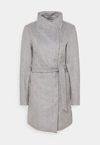 VMTWODOPE BELT JACKET - Classic coat - light grey melange