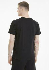 Puma - CLASSICS TECH  - T-shirts basic - puma black - 2