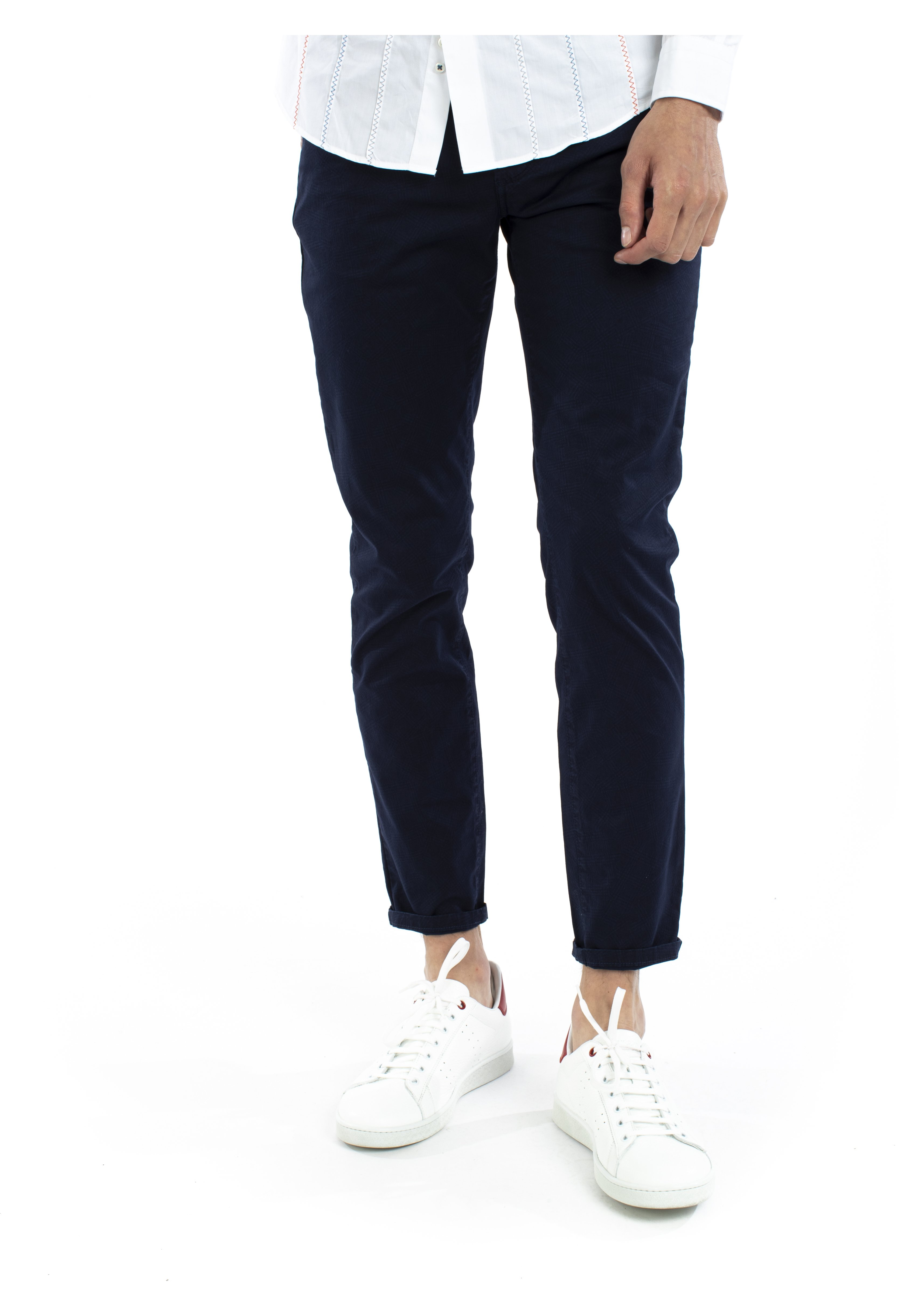 Herren PANTALONE 5 TASCHE IN COTONE - Jeans Slim Fit