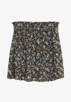 GIRASOL - Pleated skirt - zwart