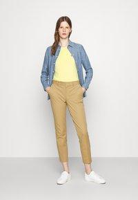 Polo Ralph Lauren - TEE SHORT SLEEVE - T-shirt basic - bristol yellow - 1
