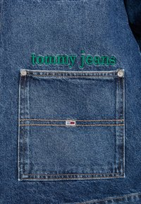 Tommy Jeans - WORKWEAR JACKET - Denim jacket - save mid blue - 5