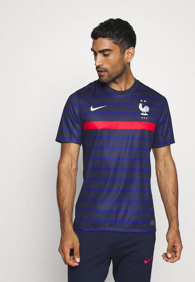 FRANKREICH FFF HOME - Article de supporter - blackened blue/white